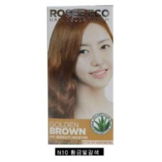 Thuốc nhuộm tóc Rosee Eco (Nâu Vàng) N10