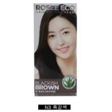 Thuốc nhuộm tóc Rosee Eco (Nâu Đen) N3