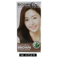 Thuốc nhuộm tóc Rosee Eco (Nâu tự nhiên) N6
