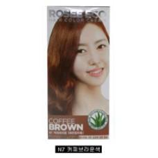 Thuốc nhuộm tóc Rosee Eco (Nâu Cafê) N7